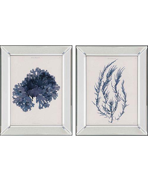 "Paragon Seaweed I Framed Wall Art Set of 2, 20"" x 16"""