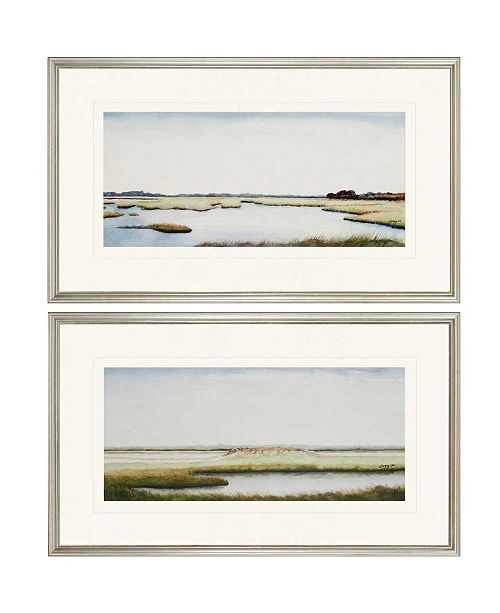 """Paragon Marshlands I Framed Wall Art Set of 2, 18"""" x 30"""""""