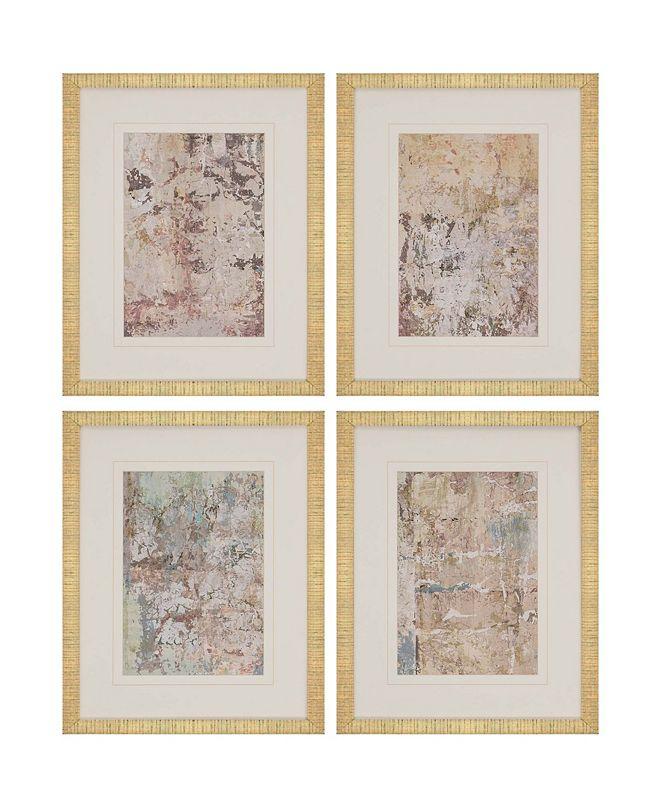 "Paragon Vestige II Framed Wall Art Set of 4, 21"" x 17"""