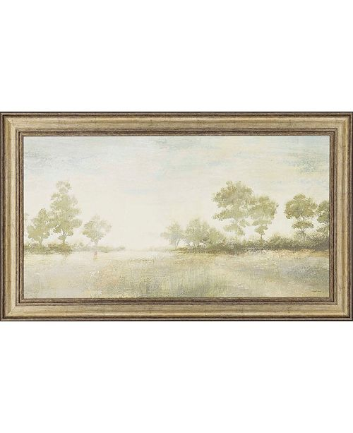 """Paragon Distant Valley Framed Wall Art, 31"""" x 53"""""""