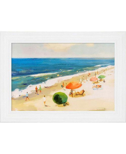 "Paragon Perfect Beach Day Framed Wall Art, 31"" x 43"""