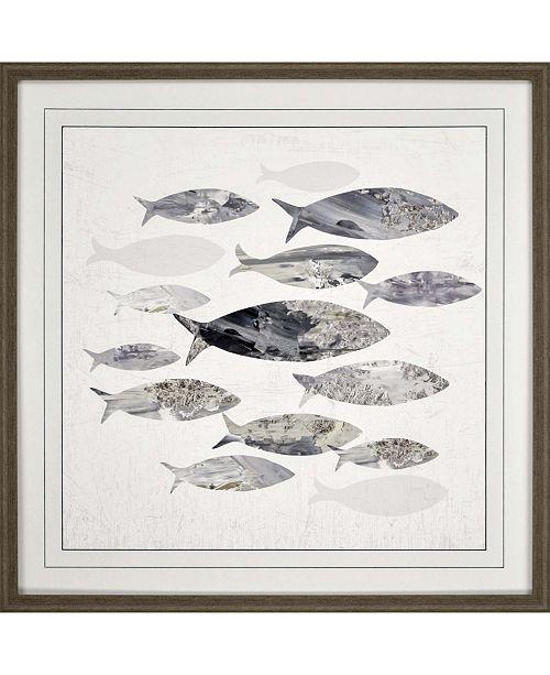 "Paragon Gone Fishing I Framed Wall Art, 31"" x 31"""