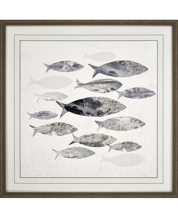 "Paragon Gone Fishing I Framed Wall Art, 31"" x 31"""
