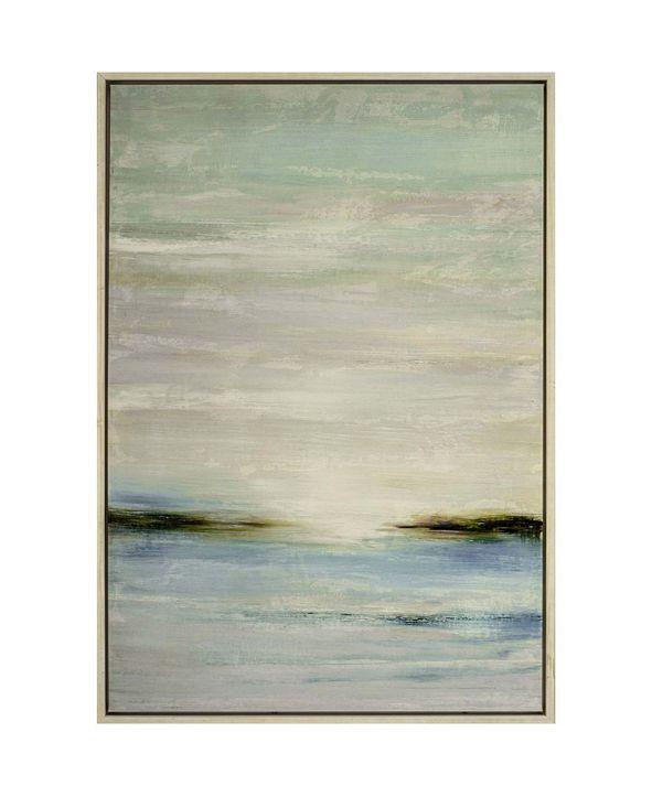 "Paragon Sea Dawn Framed Wall Art, 56"" x 38"""