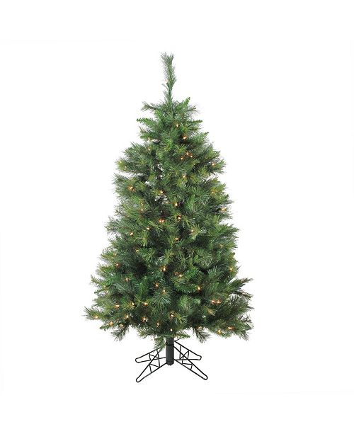 Northlight 5' Pre-Lit Canyon Pine Artificial Christmas Tree - Clear Lights