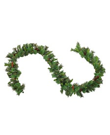 9' Imperial Majestic Pine Artificial Christmas Garland - Unlit