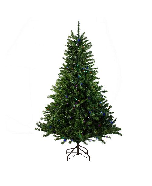 Northlight 5' Pre-Lit Canadian Pine Artificial Christmas Tree - Multi LED Lights