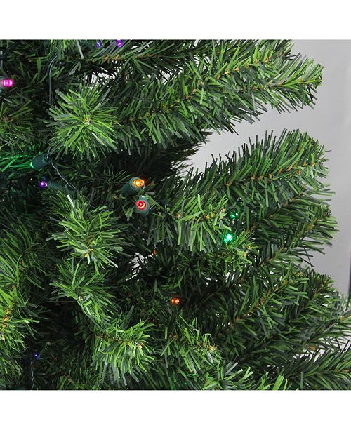 Northlight 3' Pre-Lit LED Canadian Pine Artificial ...