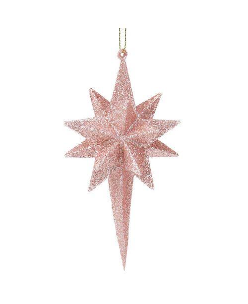 Northlight Glitter Geometric Star Christmas ornament