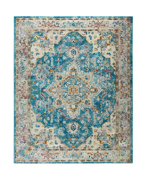 Nicole Miller  Parlin Amara Teal Blue Area Rug Collection