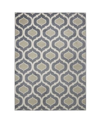 CLOSEOUT! Global Rug Design Cresent CRE01 Gray 5'2
