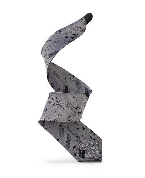 Modern Tie Men's Sea Bound Design - Slim Single Tie