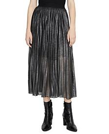 Timeless Pleated Midi Skirt
