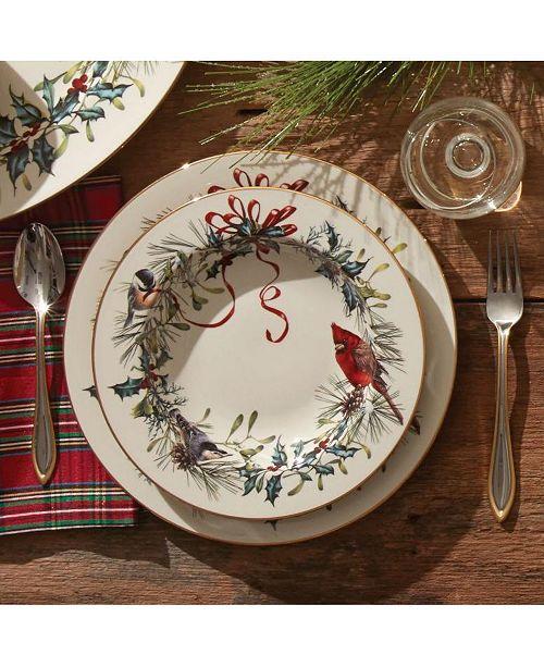 Lenox Winter Greetings Dinnerware Collection