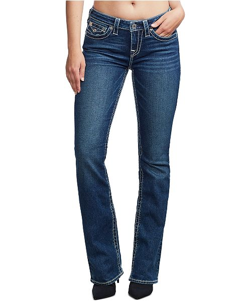True Religion Becca Big T Bootcut Jeans