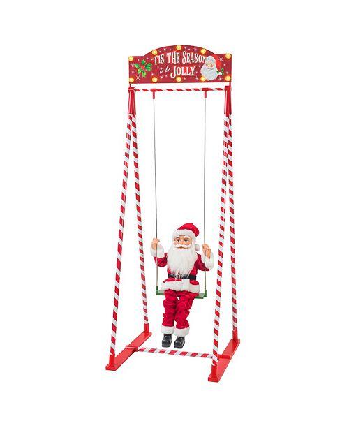 Mr. Christmas Swinging Santa