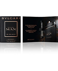 Receive a Complimentary BVLGARI Man In Black Eau de Parfum Sample with any beauty purchase