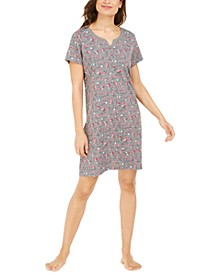 Printed Floral Sleep Shirt, Created For Macy's