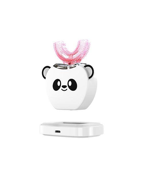 U-Smile Isonic V-White Wireless U-Brush for 360 Degree Full-Mouth Teeth Cleaning, Massage Kit for Kids