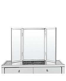 Tanith Tabletop Vanity Tri-Fold Mirror