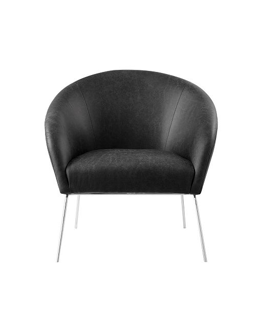 Excellent Catriona Barrel Accent Chair With Metal Legs Bralicious Painted Fabric Chair Ideas Braliciousco