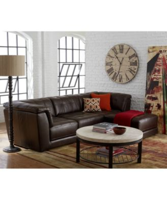 Living Room Sets Leather leather furniture - macy's