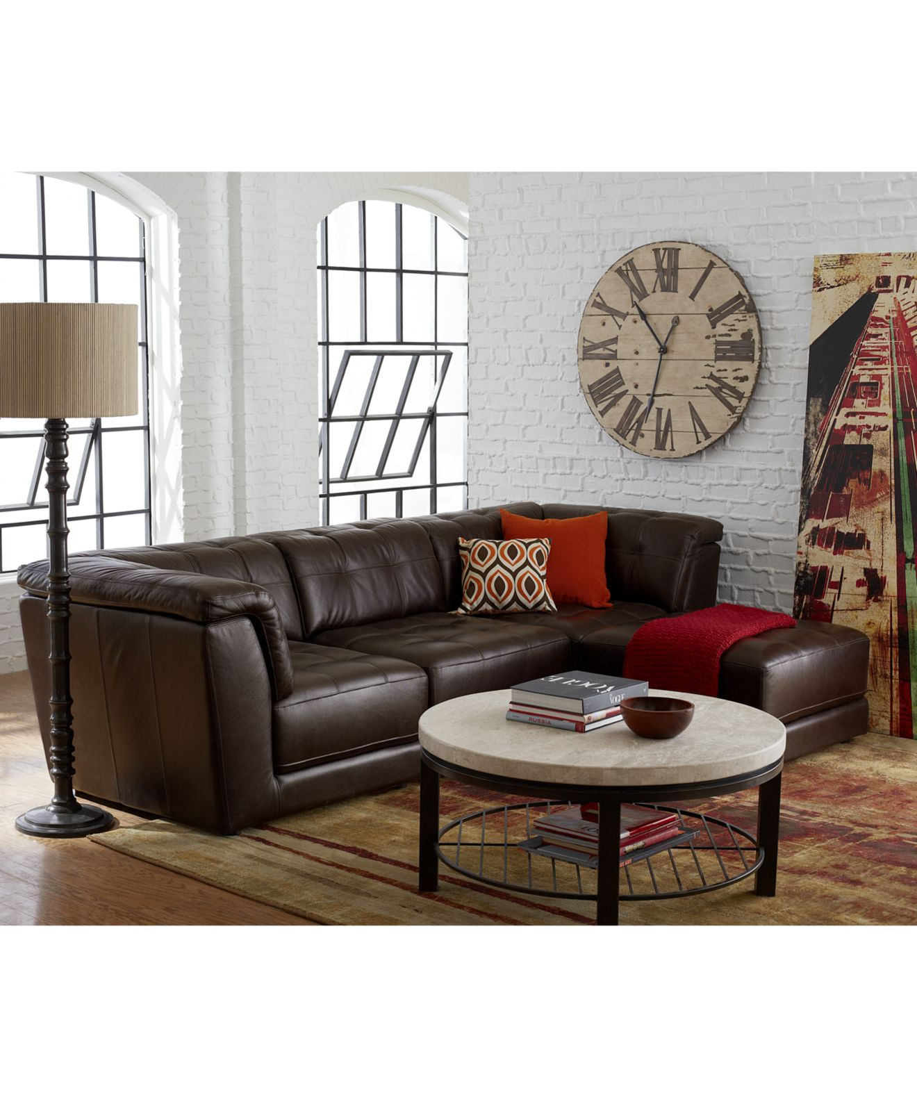 Apartment Living Room Décor and Furniture Macy s