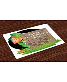 St. Patrick's Day Place Mats, Set of 4