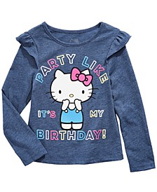 Toddler Girls Party Like It's My Birthday Top
