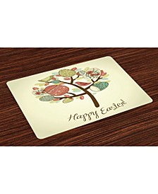 Easter Place Mats, Set of 4