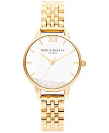 Women's Wish Gold-Tone Stainless Steel Bracelet Watch 30mm