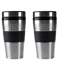 Orion Stainless Steel 16-Oz. Travel Mug, Set of 2
