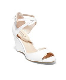 Women's Sadie Grand Open Toe Wedge Sandals