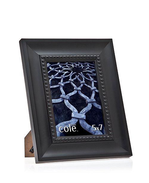 "Philip Whitney Black Bead Tabletop Frame - 5"" x 7"""