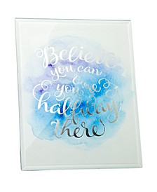Believe You Can Plaque