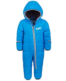 Baby Boys 1-Pc. Hooded Pram Snowsuit
