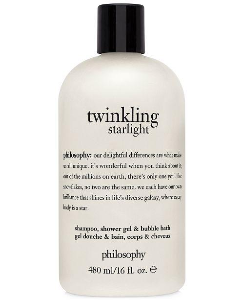 philosophy Twinkling Starlight Shampoo, Shower Gel & Bubble Bath, 16-oz, Created for Macy's