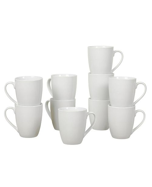 Tabletops Unlimited CLOSEOUT! 10 pc Catering 13Oz Mug Belly Shape