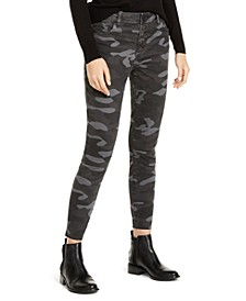 Connie High-Rise Button-Fly Ankle Skinny Jeans
