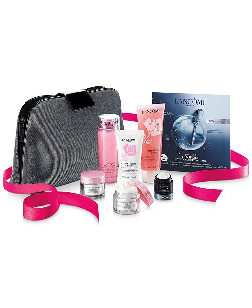 Lancome Receive Your Skincare Essentials Collection for $45 with any Lancôme purchase (A $124 Value!)
