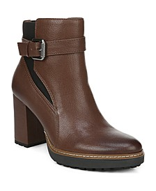 Cora Leather Booties
