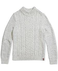 Women's Sabrina Turtleneck Sweater With Zipper Closure