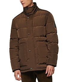Men's Stapleton Micro-Sheen Mid-Length Parka Jacket