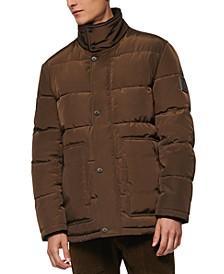 Men's Stapleton Micro-Sheen Mid-Length Parka Jacket