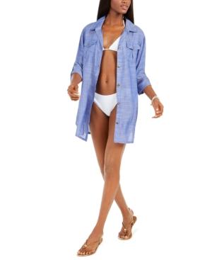 Travel Muse Shirtdress Cover-Up Women's Swimsuit
