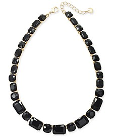 "Stone All-Around Necklace, 17"" + 2"" extender"