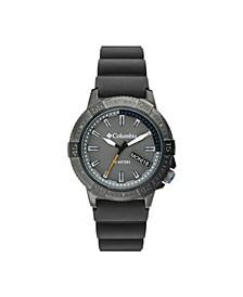 Men's Peak Patrol Gray Silicone Strap Watch 42mm
