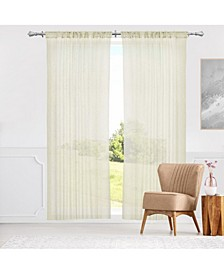 "Rod Pocket Curtains, 52"" W x 63"" H"