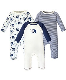 Baby Boys and Girls Organic Cotton Coveralls