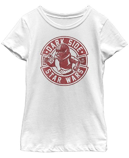 Star Wars Big Girls Rise of Skywalker Trooper Dark Side T-Shirt